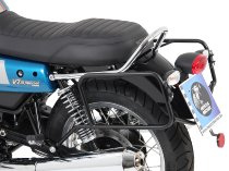 Hepco & Becker Sidecarrier permanent mounted,Chrome - Moto Guzzi V 7 III Carbon/Milano/Rough (2018-)