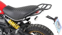 Hepco & Becker Tube rear rack, Black - Ducati Scrambler 800 (2015->2018)