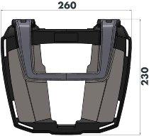 BMW Easyrack für Originalgepäckbrücke K 1300 S schwarz