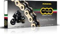 Regina chain 520 EB 120 open + clip lock