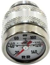 RR Oil thermometer white 27x3x25 - Yamaha 535 XV, 600 FZ6, XJ6, YZF-R6, 700 MT, 950 XVS, 1000 YZF...