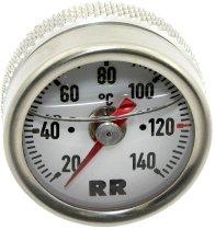 RR Oil thermometer white 27x1.5x25 - Yamaha 600 FZS, XJ, 750 FZ, 1100 FJ, XS, 1200 FJ, 1300 XJR...