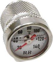 RR Oil thermometer white M20 x 1,5 x 12mm - Aprilia 1200 Dorsoduro, Cagiva 650, 1000 Raptor, Suzuki