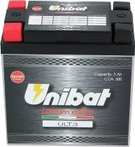 Unibat Lithium eXtra 3 CBTX14-BS 5 AH CCA 300