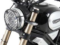 Hepco & Becker Ducati Headlight protection grid 1100 Scrambler/Special/Sport >2018 black