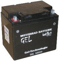 intAct Bike-Power Gel Batterie C60-N30-A 12V 30AH