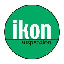 IKON Spring pair, progressive, black, 190 mm