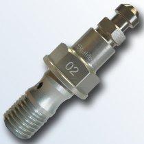 stahlbus Banjo bolt with bleeder valve M10x1,25x19mm, aluminium