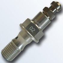 stahlbus Banjo bolt with bleeder valve 3/8 inch-24UNFx20mm, aluminium