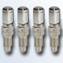 stahlbus 4er-Set Entlüftungsventile 3/8 Zoll-24UNFx16mm