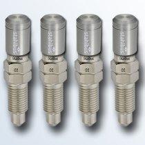stahlbus 4er-Set Entlüftungsventile 3/8 Zoll-24UNFx22mm
