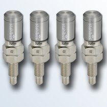 stahlbus 4er-Set Entlüftungsventile 1/4 Zoll-24UNFx16mm