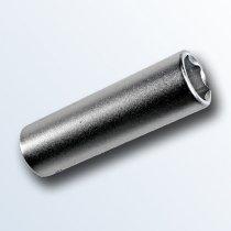 stahlbus Socket 10mm, 1/4 inch, extralong