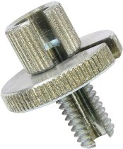 Tommaselli throttle cable adjusting screw, galvanized, M8x16
