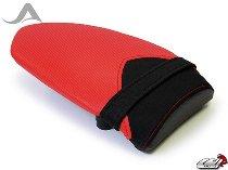Luimoto Pillion seat cover, red/black - MV Agusta 1000 F4 / R / RR
