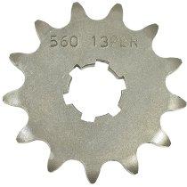 PBR Pinion wheel steel, 13/420 - Kawasaki 80 KX-V1, 80 KX-T1, 100 KX-B, - Yamaha 50 TT-R, 100 RM