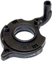 Tommaselli choke lever, complete, plastic, black, 22 mm, - Moto Guzzi V11 1100