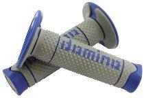 Tommaselli grip rubber set DSH, 120 mm, gray / blue