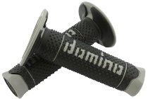 Tommaselli grip rubber set DSH Enduro, 120 mm, black / gray