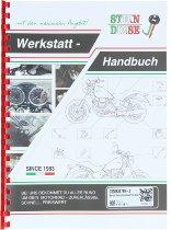 Benelli Workshop manual ( english ) - 500 Quattro, 750 SEI from 1973