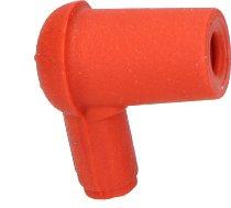 Cagiva Spark plug connecto r90°, orange, silicon