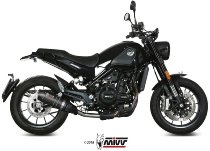 MIVV No-kat pipe, stainless steel, without homologation - Benelli 500 Leoncino