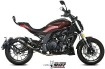 MIVV No-kat pipe, stainless steel, without homologation - Benelli 502C