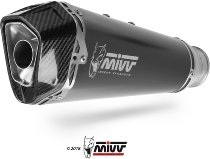 MIVV Silencer complete system Delta Race, stainless steel/carbon, with homologation - Honda CBR 650