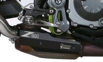 MIVV heatshield, aluminium black, - Kawasaki Z 900