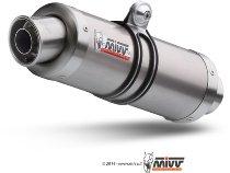 MIVV Auspuffsatz GP, titanium/titanium, mit EG-ABE - Kawasaki Z 1000