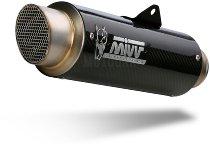 MIVV Silencer GP Pro, carbon/carbon, with homologation - KTM 125 Duke