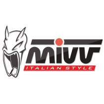 MIVV Silencer complete system Delta Race, stainless steel black, without homologation - KYMCO 550 AK
