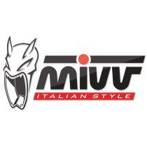 MIVV No-kat pipe, stainless steel, without homologation - Suzuki GSR 600