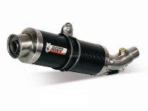 MIVV Silencer GP, Carbon/carbon, with homologation - Yamaha YZF 600 R6