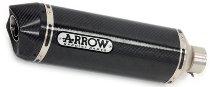 Arrow Silencer MaXi Race-Tech Aluminium Dark with homologation - BMW R 1250 / R 1200 GS