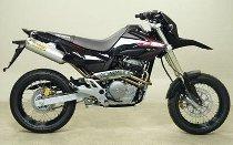 Arrow Endschalldämpfer-Paar Street Thunder Aluminium mit EG-ABE - Honda FMX 650