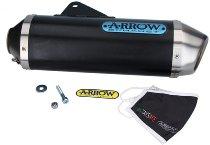 Arrow Race Tech Aluminium Dark with homologation - KTM 690 SMC R / Enduro R
