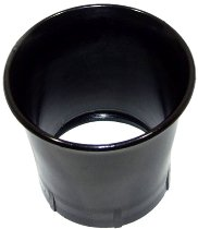 Intake funnel plastic PHF without mesh, 60mm long