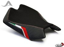 Luimoto Seat cover, black/italy - Aprilia 1000 RSV4 / R / Factory / APRC