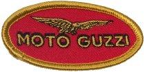 Moto Guzzi Patch logo oval 7x3,5cm