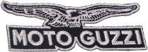 Moto Guzzi Patch black-silver 10x3,5 cm