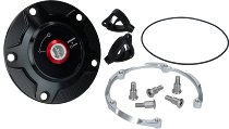 Ducati Fuel tank cap aluminium, Rizoma black - 955 V2, V4 Panigale...