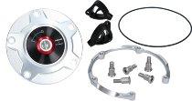 Ducati Fuel tank cap aluminium, Rizoma silver - 955 V2, V4 Panigale...