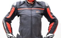 Ducati Leather jacket Corse C4 perforated black/white 50