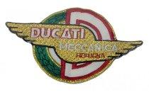 Ducati Patch Meccanica wings, gold