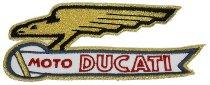 Ducati Patch eagle gold