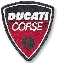 Ducati Patch Corse, 5,8 x 6,1cm