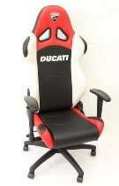 Ducati Corse Office chair, red-white-black with adjustable arm rest