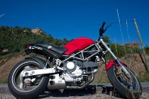 QD Exhaust kit ´ex-box´ series, stainless-steel, with homologation - Ducati 1000 Monster