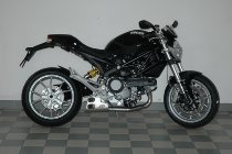 QD Exhaust kit ´ex-box´ series, stainless-steel, with homologation - Ducati 1100, Evo Monster